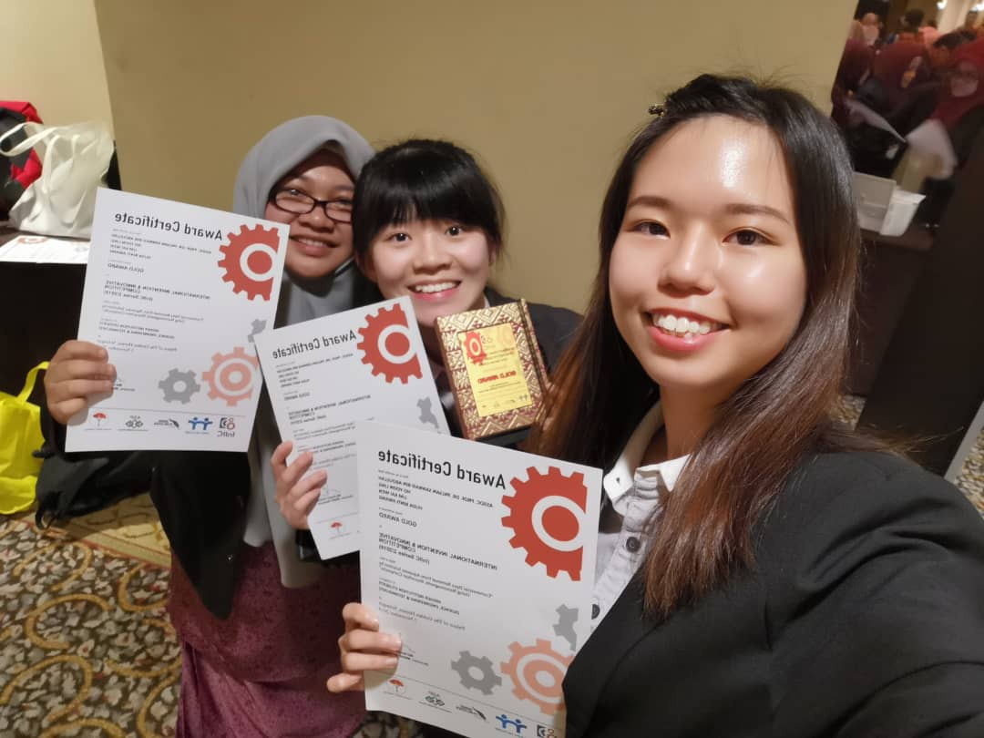 Product Development Technology (SBP) Students Won Award at InIIC Series 2/2019